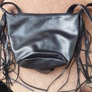 Handbags - Fringe crossbody bag